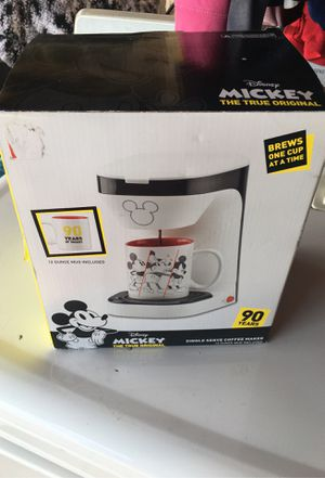 Mickey Mouse Single Serve Coffee Maker for Sale in Highland, CA