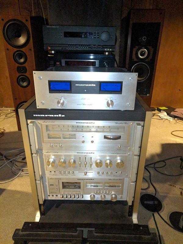 Marantz setup Amp Pre Tuner Cassette OBO or Trade