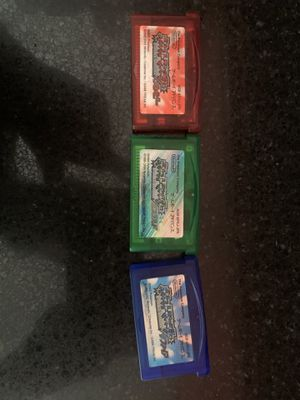 Japanese pokemon ruby sapphire and emerald for Sale in Vacaville, CA