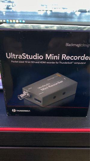 UltraStudio Mini Recorder/ Thunderbolt for Sale in Miami, FL