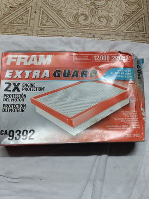 Fram CA9392 air filter for Sale in Downey, CA