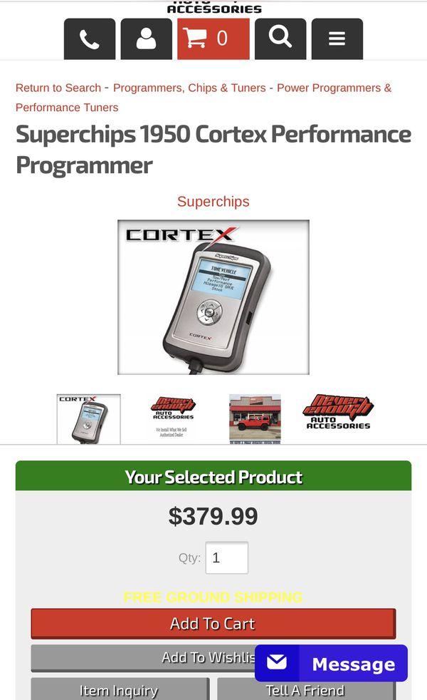 Superchips Cortex Ford Gas and Diesel programmer