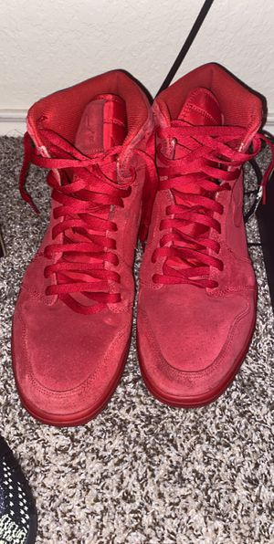 Jordan 1 red suede sz 13 for Sale in Tomball, TX