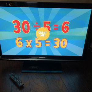 Panasonic 40inch T With remote for Sale in Humble, TX