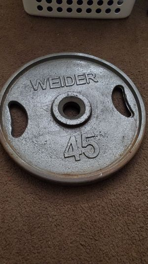 45lb Olympic plate for Sale in Whittier, CA