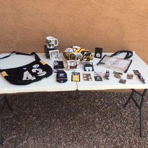 Pittsburgh Steelers Memorabilia And Stuff for Sale in Laveen Village, AZ