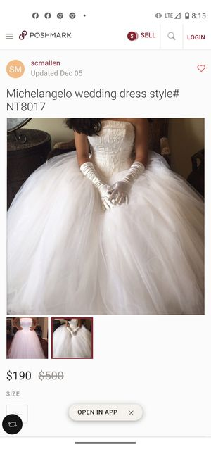 Beautiful elegant wedding gown for Sale in Romulus, MI