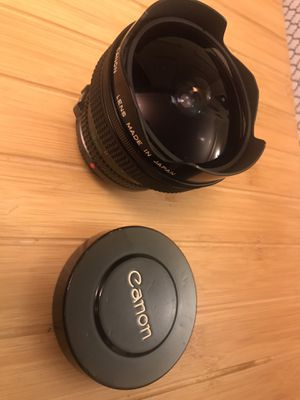 Canon 15mm FD 2.8mm for Sale in Los Angeles, CA