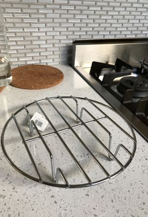 Stainless Steel Steam Rack - New w/ tag for Sale in Seattle, WA