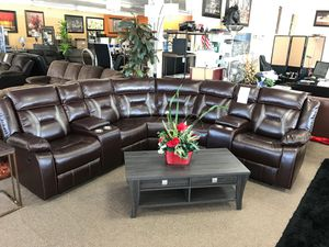 Sectional sofa 🛋 on sale @ elegant Furniture 🛋🎈 for Sale in Fresno, CA