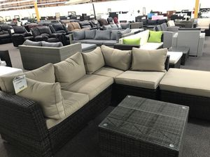 New outdoor patio sectional couch for Sale in Santa Monica, CA