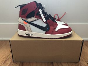 Air Jordan 1 Off-White Chicago(Sz 9) for Sale in Chicago, IL