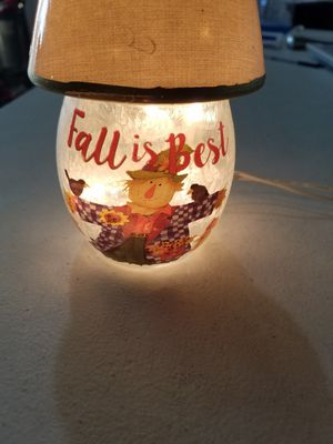 FALL IS BEST LIGHT/LAMP NEVER USED for Sale in Hesperia, CA