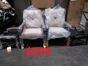 ✹✹✹ Brand new Patio outdoor furniture lounge club cushion chairs for Sale in Houston, TX