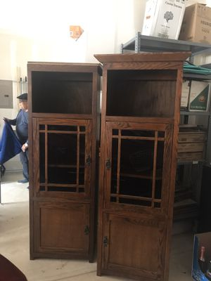Entertainment center wood shelves! for Sale in San Antonio, TX