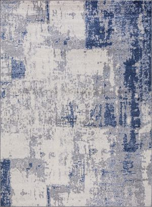 Blue Gray abstract 8x10 rug for Sale in Los Angeles, CA