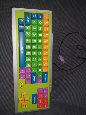 Crayola computer keyboard for kids 19x7 inches for Sale in Bal Harbour, FL