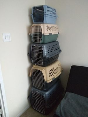 Dog and Cats Crates Kennels Carriers different Sizes for Sale in Alexandria, VA