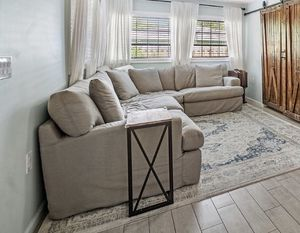 Sectional couch, 4 pieces. 3 years old and great condition. Referred to as the napping couch. It's an awesome couch . Just moved and does not fit in for Sale in Charlotte, NC