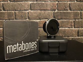 Metabones Cine Canon EF to Sony E-mount adapter for Sale in West Hollywood,  CA