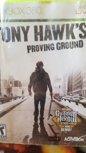 Xbox 360 TONY HAWKS PROVING GROUND for Sale in Lakeland, FL