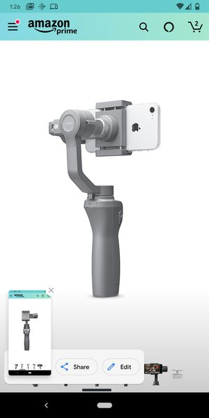 DJI Osmo mobile 2 handheld phone gimbal with case for Sale in Santa Ana, CA