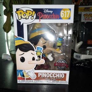Pinocchio - Pinocchio (Long Nose) with Jiminy Cricket Funko Pop for Sale in Hacienda Heights, CA