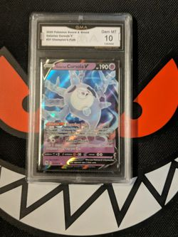 Pokemon - Galarian Cursola V Max 021/073 - GMA Mint 10 for Sale in Beverly Hills,  CA