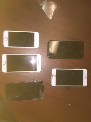 iPhones passcode locked - good for parts for Sale in New York, NY