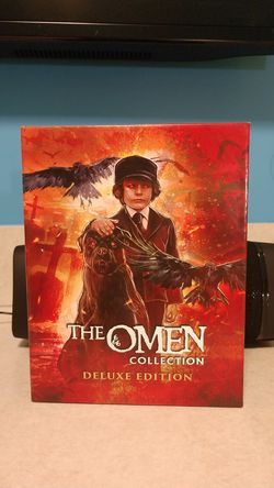 The omen collection deluxe edition Blu Ray set for Sale in San Diego,  CA