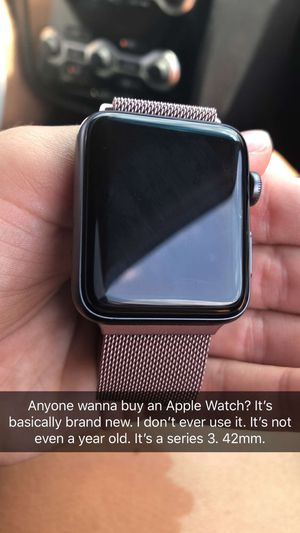 Apple Watch. Series 3. 42mm. for Sale in Westerville, OH