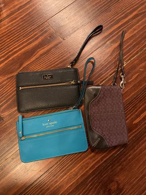 Kate Spade and Coach wristlets! for Sale in MIDDLE CITY EAST, PA
