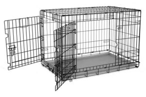 Large dog crate with separator piece for Sale in St. George, UT
