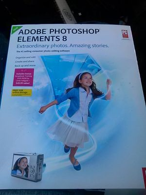 Adobe Photoshop elements 8 for Sale in Los Angeles, CA