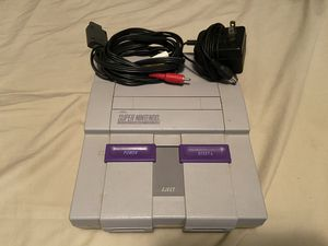 Original Super Nintendo Entertainment System for Sale in Lawrence, MA