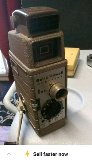 Vintage bell and Howell camera for Sale in Gaston, SC