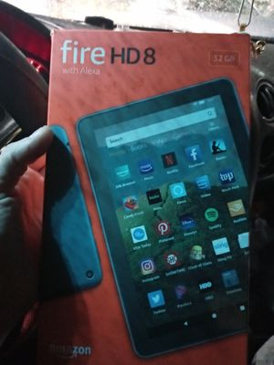 Fire HD8 with Alexa 32gb. Still in original packaging for Sale in Kansas City, MO