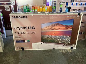 """SAMSUNG 58"""" SMART TV MODEL:UN58TU700DFX KLLO for Sale in Houston,  TX"""