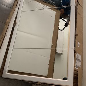 Concord 48 in. x 30 in. Tri-View Surface-Mount Medicine Cabinet in White Gloss by Design House for Sale in Frisco, TX
