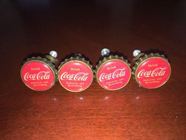 Coca-Cola dress knobs