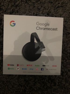 GOOGLE CHROMECAST for Sale in Weymouth, MA