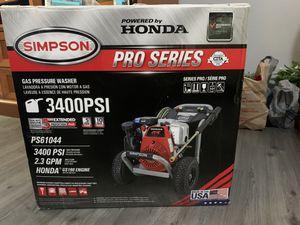 Honda/Simpson 3400 psi gas pressure washer for Sale in Austin, TX
