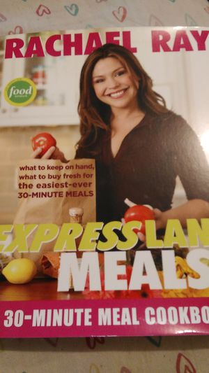 Rachel ray cook book for Sale in Lutz, FL