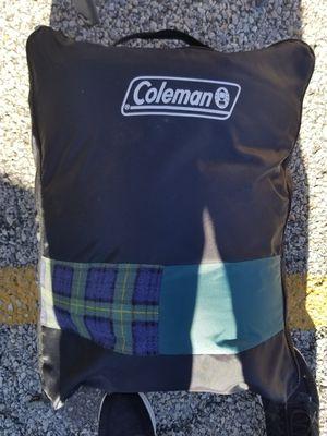Coleman Adult Sleeping Bag w/ Carrying Bag for Sale in Cinnaminson, NJ