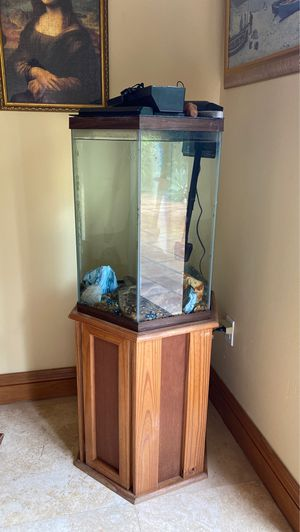Aquarium with Stand & Filter for Sale in Miami, FL