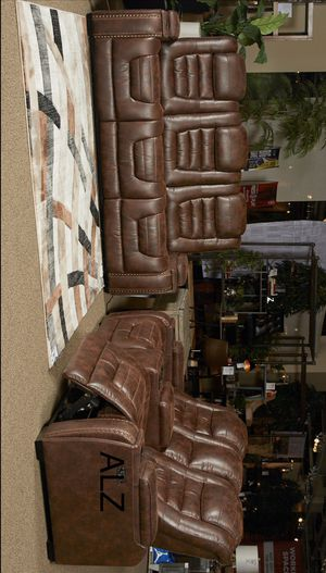 [EXCLUSIVE] Game Zone Bark Power Reclining Living Room Set with Adjustable Headrest for Sale in Houston, TX