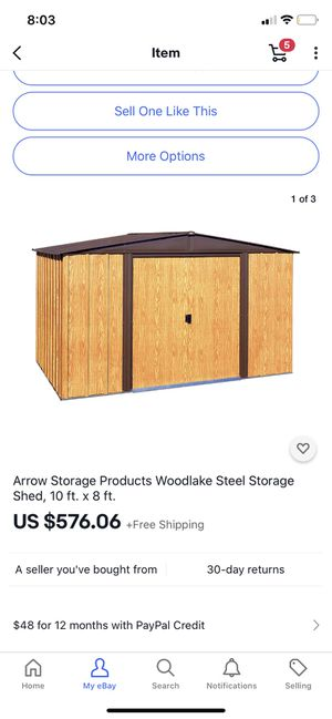 Shed storage for Sale in Irvine, CA