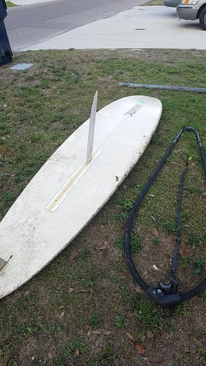 Windsurf board, 2 sails for Sale in Tampa, FL