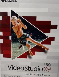 Corel VideoStudio Pro X9 old version For Windows New for Sale in Norwalk,  CA