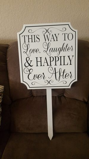 Wedding sign for Sale in Ontario, CA